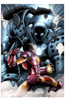 IRONMAN VS IRON MONGER by torner