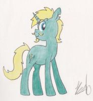Emerald Arts Pony - Request by The-Bryce-Is-Right