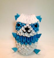 3D Origami Panda. by LaurenAnisa