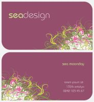 business card by mooooon