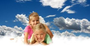Kids in Clouds by nikiljuice