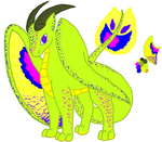 Jeweled Dragon Adoptable .CLOSED:. by Wolfie-Bases-Adopts