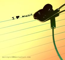 I love music by DevilGirl00