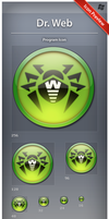 Icon Dr Web by ncrow