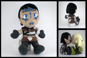Dragon Age Warden plushie by eitanya