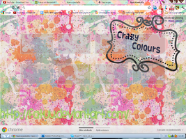 Theme Google Chrome CrazyColours by Fatuu