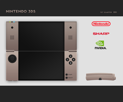 Nintendo 3DS Mockup by optimiss