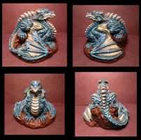 Completed Dragon piece View set 1 FOR SALE by Meadowknight