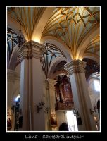 Lima - Cathedral interior by lux69aeterna