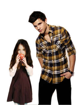 Renesmee y Jacob! PNG by JuliiCullenEditions