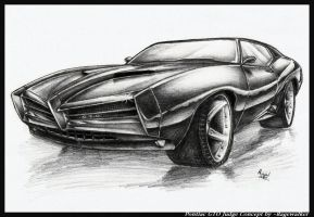 Pontiac GTO Judge Concept by Ragewalker