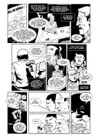 THE SIMPLE ART OF MURDER Issue #1 - page 14 by CasalLettering