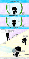 Fast Doodle: Mr. Game and Watch's Morning mood by Master-0f-Puppets