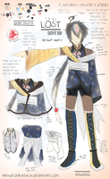 Outfit 001 Design for Lost by TheAwesomeAki-kun