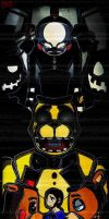Five nights at Freddy's 2 Cover by SilverBaze
