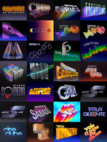 Rede Globo program block and session logos (1990s) by lukesamsthesecond