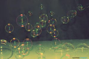Bubbles, bubbles by munchinees
