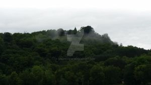 Fog on the hill by greenchew