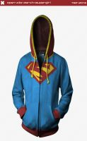Supergirl Hoodie by seventhirtytwo