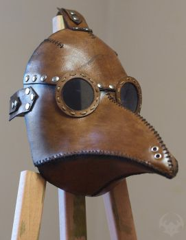 Plague doctor mask by Spiked-Fox