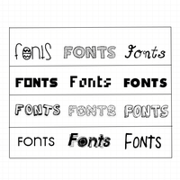 +Pack de Fonts by LuanaTutoriales