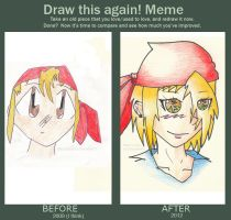 Draw this again meme FTW by Strait-Jacket-Niko