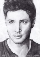 Jensen Ackles by Bluelioness