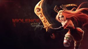 Christmas Katarina Background by Uberkayt