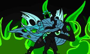 Chrysalis! Ready for action! Ready for Revenge! by Zeroexe109