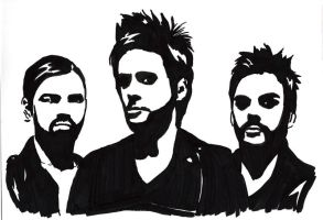 Thirty Seconds To Mars by InfernalTear