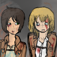Bloody, Broken, and Bruised. by beeutiiful