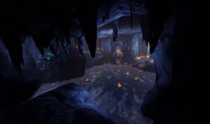 The Spirit Cave by outstarwalker