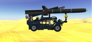 Cargo Stacker Assault Droid Side View by mafia279