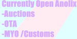 .:Anolix:. CURRENT OPEN ADOPTS AND ANNOUNCEMENTS by VladieBunnifly