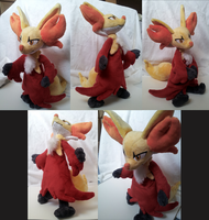 Delphox Doll by KiraFoxx