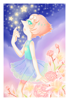 Pearl (Steven Universe) Print 4x6 by Saby-Cat