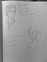 Cassie and Evan || The 5th Wave (Sketches) by BelieverOfHerDreams