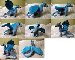 Dragon plush by Rens-twin