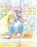 Mario Power-Ups!!! Mario Cape of Super Mario World by MeleevsBrawl
