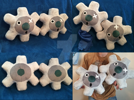 Klink Pokemon Plushie! by GuardianEarthPlush