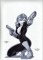 Black Widow by jtackkett