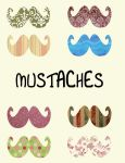 Mustaches by 13nevery