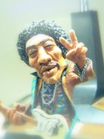 jimmi hendrix close up by Fabreeze