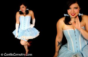 Dorothy Overbust Corset by CastleCorsetry