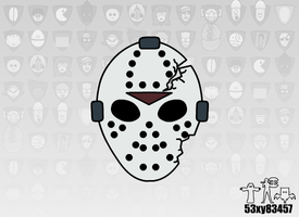 Voorhees Mask (DV) by 53xy83457