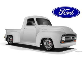Ford FR100 by deh4hate