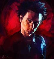 Matthew Bellamy Portrait by sven-werren