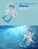 The Little Mermaid, Nami by ElementB13