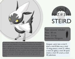 Pokemon Oryu 063 Steird by shinyscyther