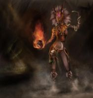Witch Doctor (Diablo 3 Fanart) *Finish* by dasEvachen